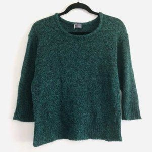 Urban Outfitters Sparkle Fade Sweater Knit Green S